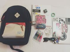 Megan is Average — Back to school favorites// What's in my backpack...