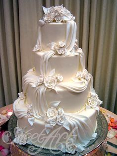 wedding cakes elegant Wedding Cakes: made from scratch with the finest ingredients Sweet Art Fine Swiss Confectioner Extravagant Wedding Cakes, Amazing Wedding Cakes, White Wedding Cakes, Elegant Wedding Cakes, Elegant Cakes, Extreme Wedding Cakes, Wedding Cake Decorations, Wedding Cake Designs, Wedding Centerpieces