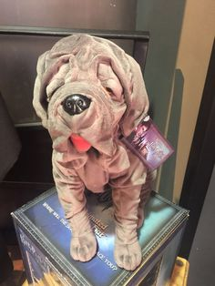 NEW Harry potter Stuffed plush toy doll fang dog new 14inches