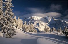 Les Houches, France, where I spent my chidlhood's vacations every winter and summer.