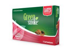 Red Label Tobacco™-С наситения си и плътен вкус Red Label Tobacco наподобява на вкуса на класическите цигари – смес от специфичния тютюн Вирджиния и неповторим аромат на дървесина.