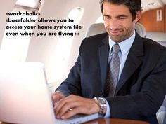 http://www.basefolder.com allows you to access your home system file even when you are flying !!!
