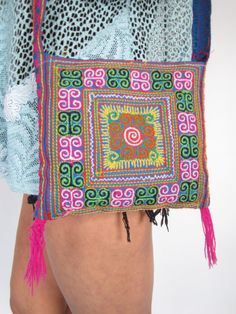 Vintage 1970s Colourful Aztec Navaho by WhiteRabbitExchange