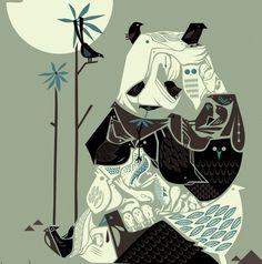 Graham Carter  our new print !!!!!!! Panda