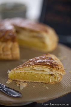 Királyok tortája - leveles tészta és frangipán krém French Toast, Food Photography, Food And Drink, Sweets, Breakfast, Blog, Recipes, Posts, France