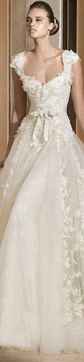 wedding dresses #chic #beauty #bridal