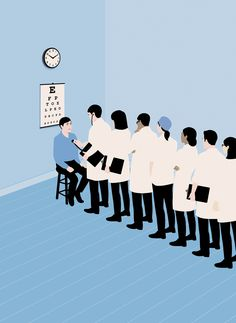 anna parini illustration ilustración the new yorker healthcare atul gawande