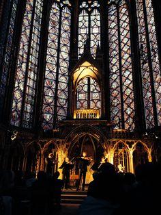 La Sainte-Chapelle, Paris evening concert 2015