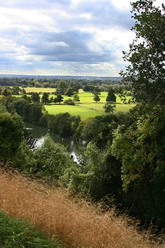 Overlooking the River Thames at Cliveden, Taplow, Buckinghamshire, England