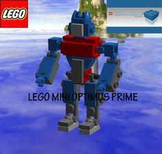 Lego mini Optimus prime