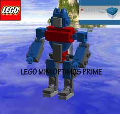 Lego mini Optimus prime