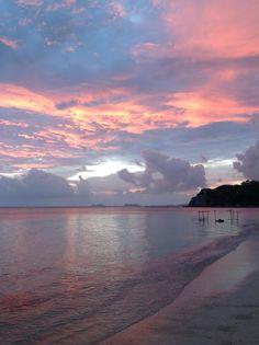 Sunset at Ko Phangan, Thailand