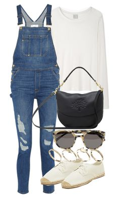 """""""Untitled #16492"""" by florencia95 ❤ liked on Polyvore featuring Base Range, Frame Denim, Forever 21, ASOS, Mulberry and Alexander Wang"""