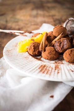 truffes au chocolat orange &cannelle