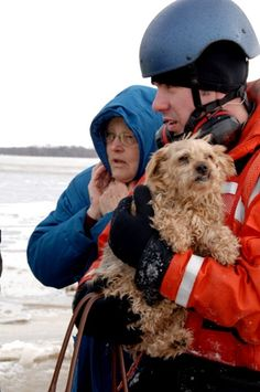 Coast Guard rescues pet and owner