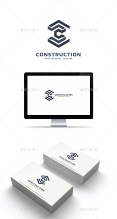 Construction Logo - Abstract Logo Templates abstract art *abstract and geometric wallpapers Id Design, Best Logo Design, Branding Design, Construction Company Logo, Brand Symbols, Software Projects, Abstract Logo, Logo Color, Monogram Logo