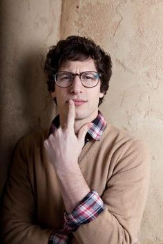 andy samberg-this is Corbin in 10 years Pretty People, Beautiful People, Donald Glover, Brooklyn Nine Nine, Saturday Night Live, Attractive Men, Man Crush, Guys And Girls, Funny People