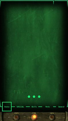Fallout PipBoy LG-G3 Background by CC-Catastr0phe