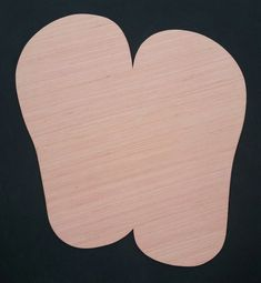 FLIP FLOPS- Wooden Blanks, Wooden Shapes, Wooden Wreath Shapes, Wooden Door Hangers, Shape Blanks All of our Door Hanger Shapes are Hand cut