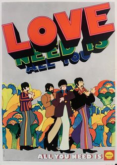 Hippie Posters, Love Posters, Beautiful Posters, Band Posters, Film Posters, Psychedelic Posters, Music Posters, Beatles Poster, Les Beatles
