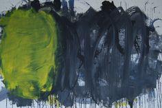 second movement acrylic on canvas 95 x 140 cm