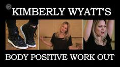 From ballet stretches to battle moves, join former Pussycat Doll Kimberly Wyatt for a week's worth of #bodypositive workouts.
