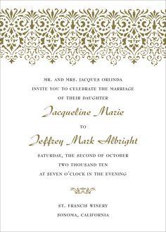 Wedding Phrases For Invitations