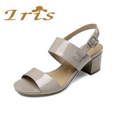 Shoes Size 41 42 43 High-heeled Fashion Shoes Women Aiyuqi Women Sandals 2019 Spring /summer New Genuine Leather Mesh Sandals Women High Heels