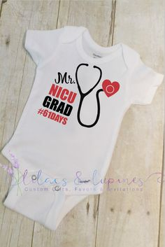 NICU Onesie Preemie Onesie Newborn NICU Grad by LilacsandLupines Micro Preemie, Preemie Babies, Preemies, Baby Baker, Cute Onesies, Newborn Care, Rainbow Baby, Toddler Gifts, Bob Marley