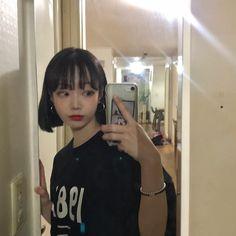9월에 제주도 가는데 맛집이랑 숙소 추천 해 줄 사람 ㅠㅠㅠㅠㅠ정말 감사하겠슴둥 ㅠㅠㅠ #제주도 #제주도여행 #제주도맛집 #제주도숙소 Ulzzang Short Hair, Korean Short Hair, Short Hair With Bangs, Girl Short Hair, Ulzzang Girl, Hairstyles With Bangs, Korean Girl, Asian Girl, Cool Hairstyles