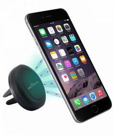 Car Mount TechMatte MagGrip Air Vent Magnetic Universal Car Mount Holder (Black) for the Galaxy Edge LG Apple iPhone 6 6 Plus iPhone 5 Samsung Galaxy HTC Apple Iphone, Iphone 6, Lg G3, Samsung Galaxy S5, Smartphone Car Mount, Car Phone Mount, Smartphone Holder, Smartphone Covers, Car Mount Holder