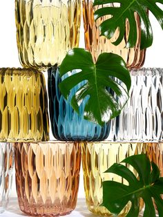 Jelly vase by Patricia Urquiola | #Summer color!