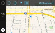 """El """"modo coche"""" de iOS 7 muestra su evolución en la última beta"""