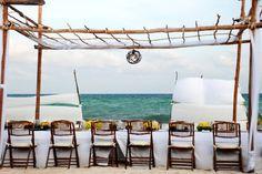 Riviera Maya Wedding by Elegant Occasions  Read more - http://www.stylemepretty.com/destination-weddings/2011/11/17/riviera-maya-wedding-by-elegant-occasions/