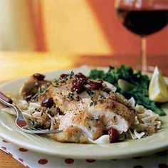 Chicken in Cherry Marsala Sauce chicken-recipes