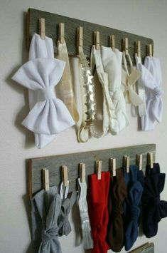 52 Ideas For Hair Accessories Diy Holder Head Bands - baby Baby Girl Accessories, Diy Hair Accessories, Diy For Teens, Diy For Kids, Girl Nursery, Girl Room, Diy Headband Holder, Bow Holder, Diy Bebe