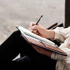 On the go. Write anywhere & everywhere.
