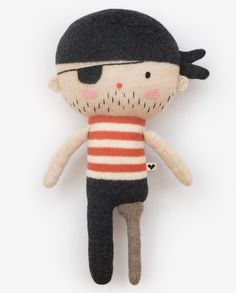 Lauvely pirate doll