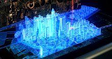 cinema 4d hologram city tutorial http://www.cinema4dtutorial.net/?p=2682