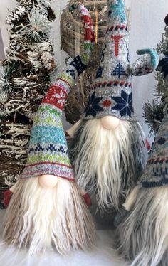 Tomte Nisse Nordic Gnome Santa Christmas by DaVinciDollDesigns
