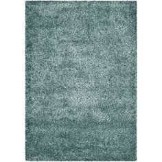 Safavieh New York Shag Turquoise/ Turquoise Rug (4' x 6') | Overstock.com Shopping - Great Deals on Safavieh 3x5 - 4x6 Rugs