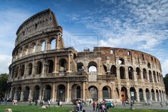 The Colosseum in Rome, Italy by Ayalem.deviantart.com #Photography #Architecture #Monuments #Statues