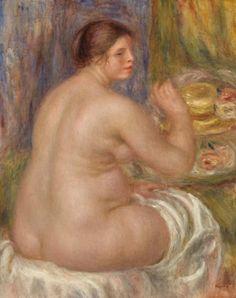 Pierre-Auguste Renoir - Nude from the Back (Nu de dos)