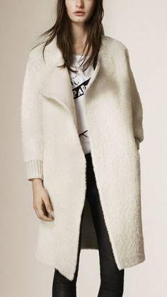 Wool Alpaca Cashmere Cardigan
