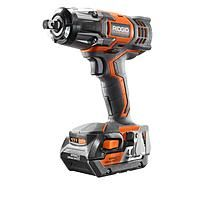 ridgid 18v cordless impact wrench kit with 4ah battery $139 + free S/H @ Home Depot $139.00