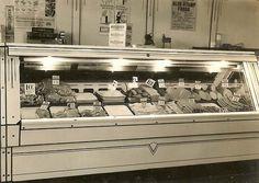 Old fashioned deli counter