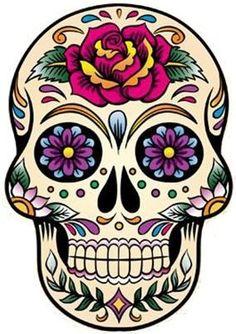 Dibujos para colorear el da de los muertos 51  Mxico