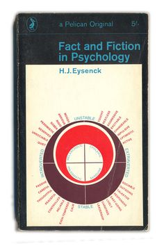 1968 Fact and Fiction in Psychology - H.J.Eysenck - Pelican Books