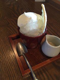 高山 喫茶去かって のアイス