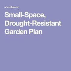 Small-Space, Drought-Resistant Garden Plan